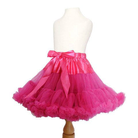 pettiskirt hot pink tutu candy bows angels face bob and blossom miss francis petticoat underskirt