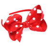 Traditional Bow Headband Dots