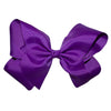 Boutique Hair Bows - Solid colours - Shades of Pinks and Purples