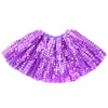 disco sequin sparkle tutu dress up fancy dress pink purple blue black silver turquoise