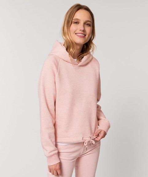 Ladies and Girls Super Soft Cropped Organic Hoodie