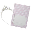 Pretty Princess Tiara with Purple Gift Card