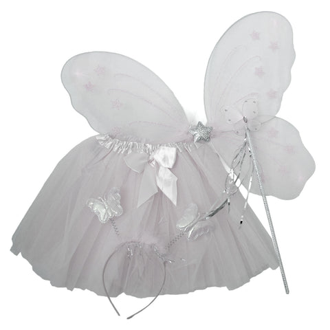 tutus princess set wings and wand angel set dress up fancy dress candy bows