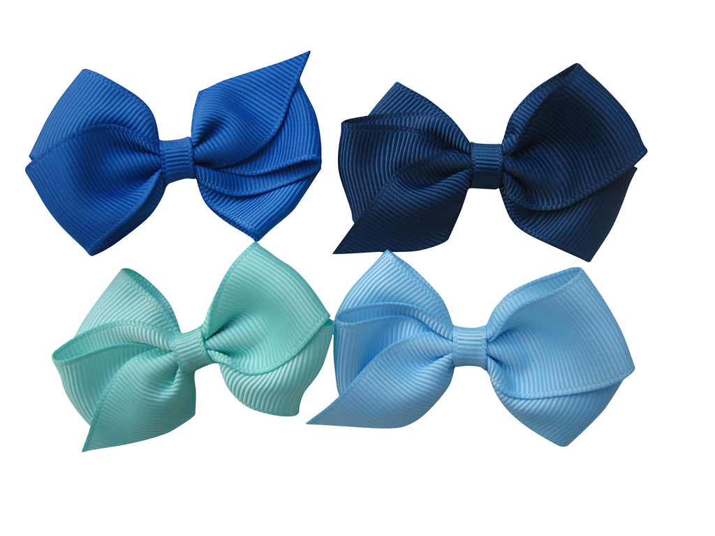 Toddler hair bow accessories clips å Aqua 314å  – Candy Bows 62c0b72a246
