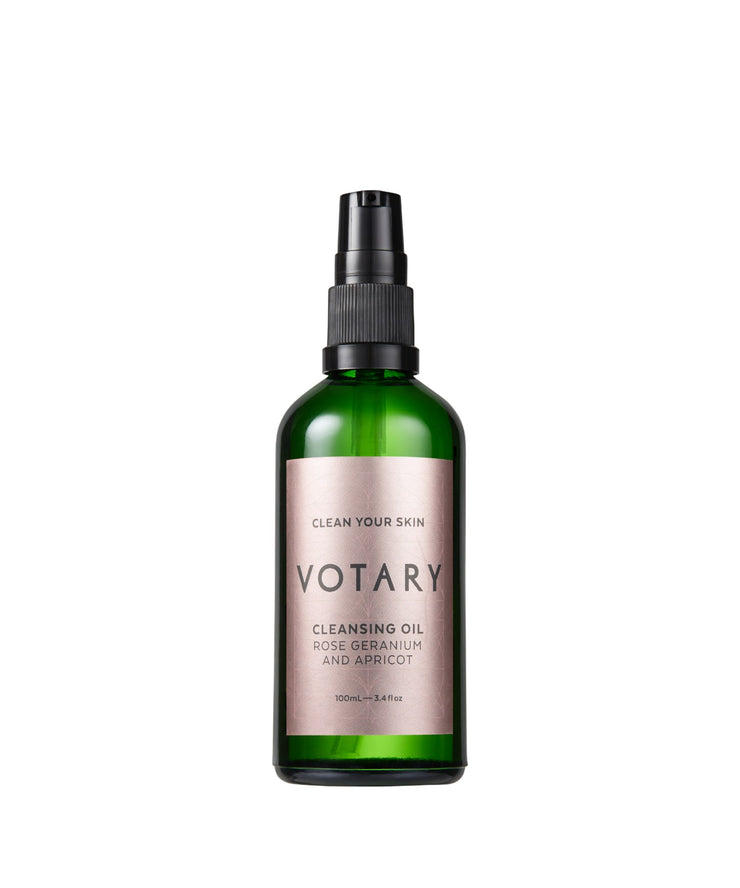 VOTARY Cleansing Oil Rose Geranium & Apricot 100 ml