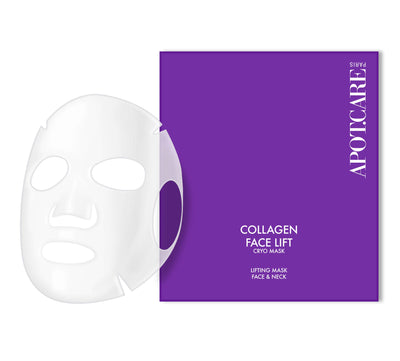 APOT.CARE Collagen Face Lift Cryo Mask 4 stk