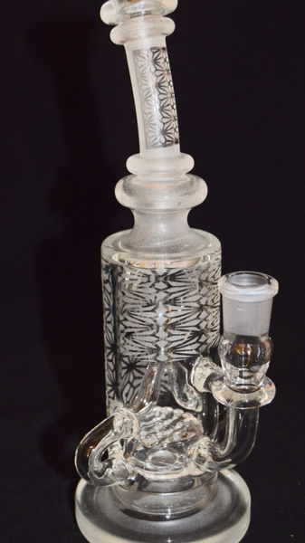"J-ME x NE Glass Art Dual Drain Klein Recycler 9.5"" "" make an offer """