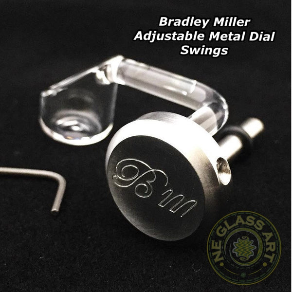 Metal Dial +  Quartz swing (adjustable) by Bradley Miller XL or Regular