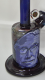 "Madden 7.25"" 10mm mini tube. Galaxy with portrait of S. Hawking  ""Make an Offer"""