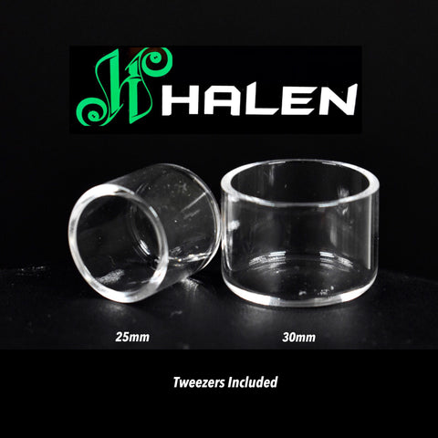 Quartz Inserts by Halen (choose size below) 25mm or 30mm