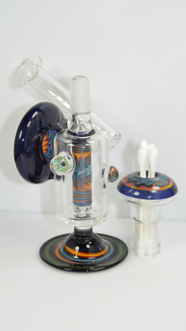 "5.5"" 14mm Mike Fro Mini sidecar rig"