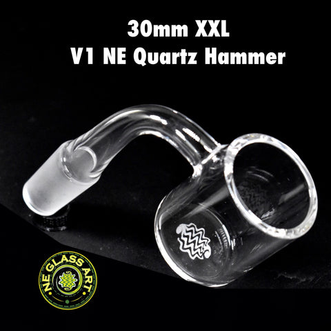 V1 XXL Quartz Hammer by NE Glass Art (30mm)