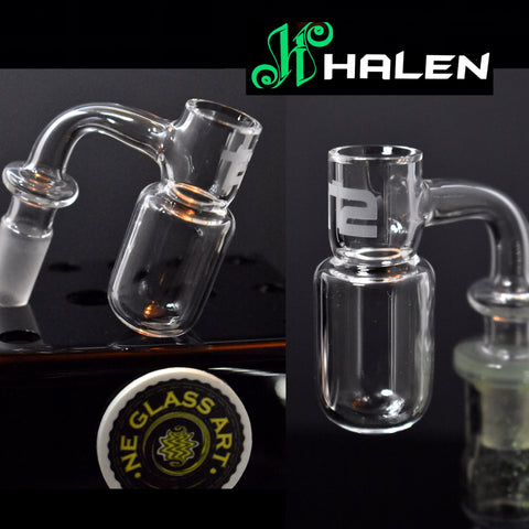 "New ""T2"" Round Bottom Quartz Banger by Joel Halen"