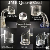 Quartz Coal insert by JME (for 24mm+)