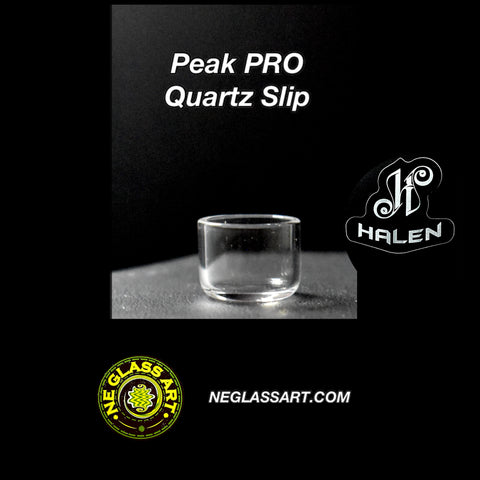 Quartz inserts for Puffco Peak and Peak Pro