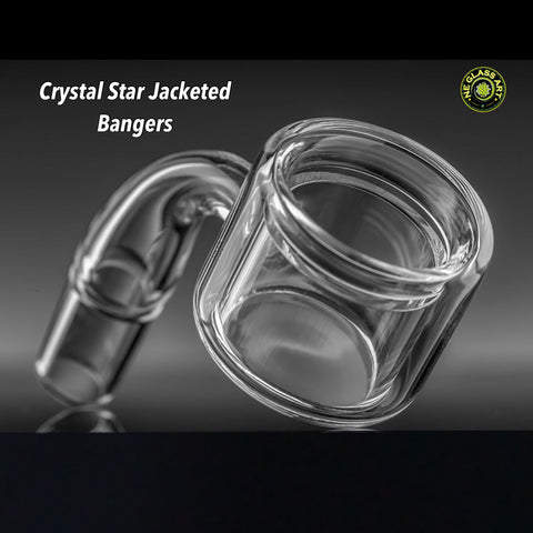 Jacketed Thermal Quartz Banger by Crystal Star