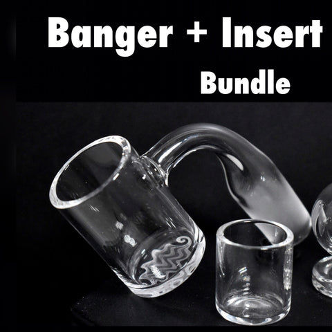 BUNDLE insert + Banger Evan Shore x NE Quartz (Handmade Joint)