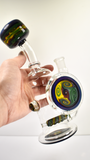 "9"" Mike Fro Mini Tube 14mm Rasta Stemline"