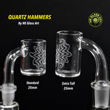 V1 Quartz Hammer by NE Glass Art (standard)