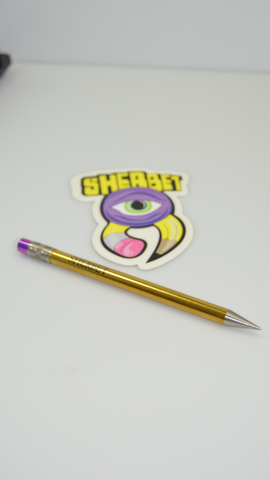 Titanium Sherbet Pencil (Gold)
