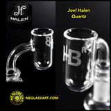 Round Bottom Quartz Flat Top by Joel Halen