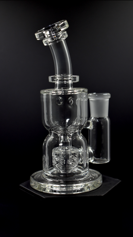 Mini Hour Glass Torus Recycler by Fatboy / Dono CLEAR