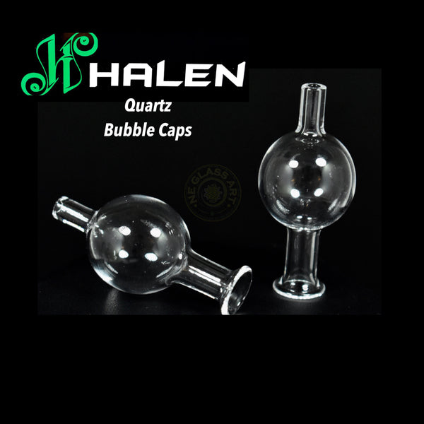100% Quartz Bubble Cap by Halen (fits 25mm)