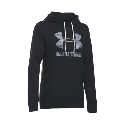 Under Armour Favorite Fleece Sportstyle Hoodie - Black