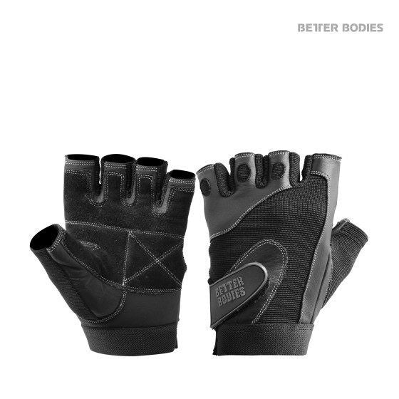 Better Bodies Pro Lifting Glove - Sort - Musclehouse.dk