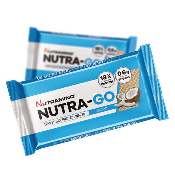 Nutramino Nutra-Go Wafer - Coconut (38g) - Musclehouse.dk