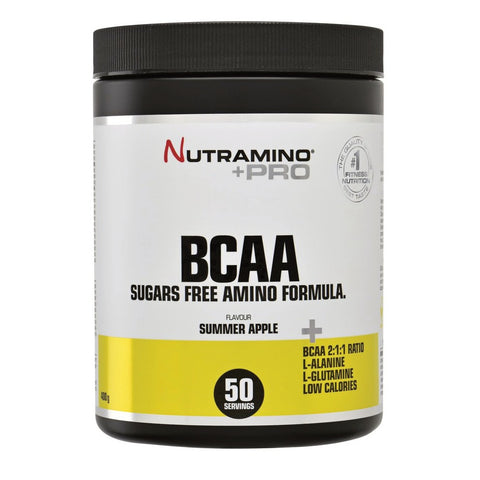 Nutramino BCAA Powder Summer Apple (400g) - Musclehouse.dk