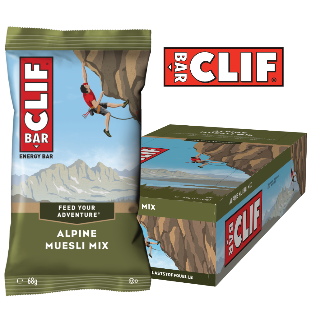 Clif Bar – Alpine Muesli Mix (12x68g)