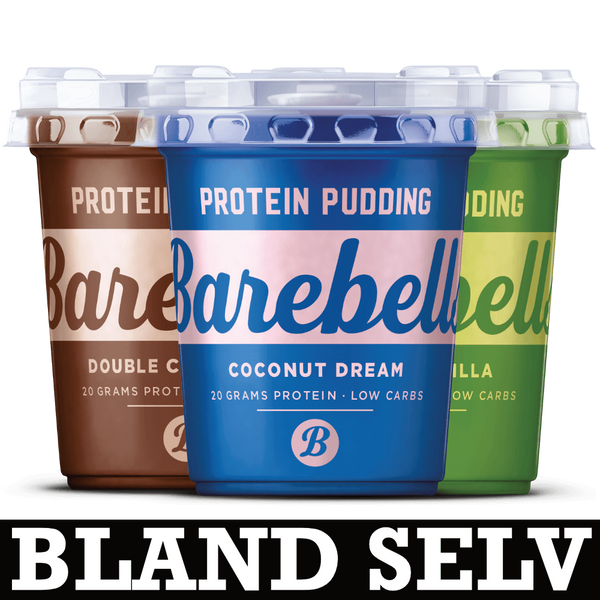 Barebells Protein Pudding (6x 200g) - Musclehouse.dk