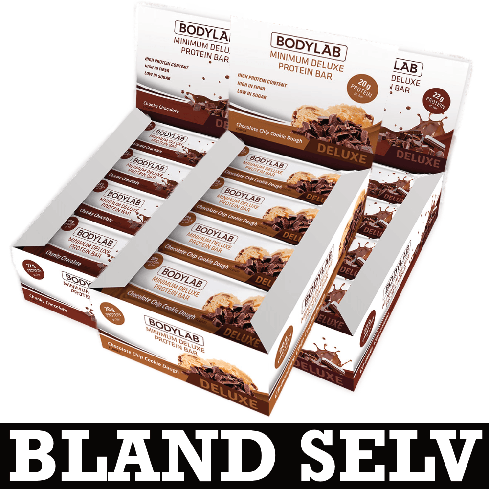 Image of   Bodylab Minimum Deluxe Protein Bar (36x 65g)