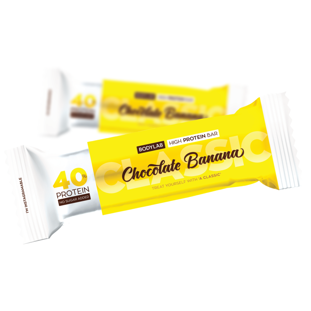 Bodylab High Protein Bar – Chocolate Banana (1x60g)