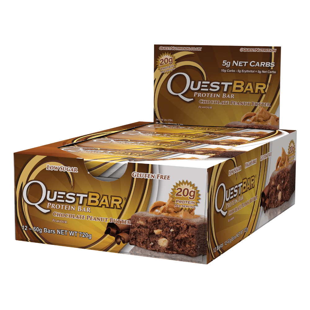 Quest Protein Bar Chocolate Peanut Butter (12x60g)