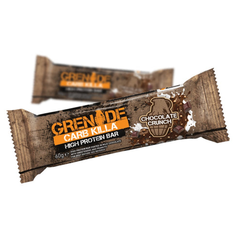 Grenade Carb Killa Chocolate Crunch (1x60g) - Musclehouse.dk