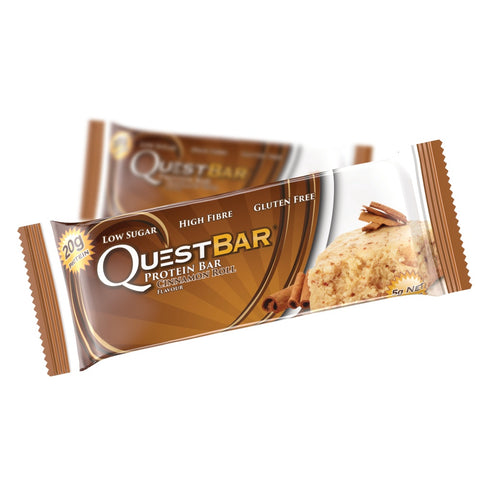 Quest Protein Bar Cinnamon Roll (12x60g)