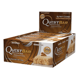 Quest Protein Bar Cinnamon Roll (12x60g) - Musclehouse.dk