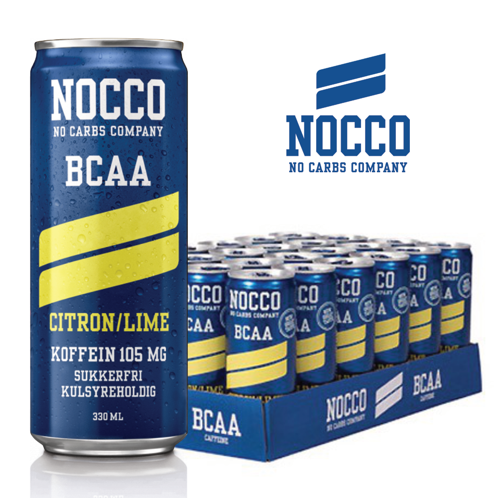 Image of   NOCCO - Citron Lime (24 stk)