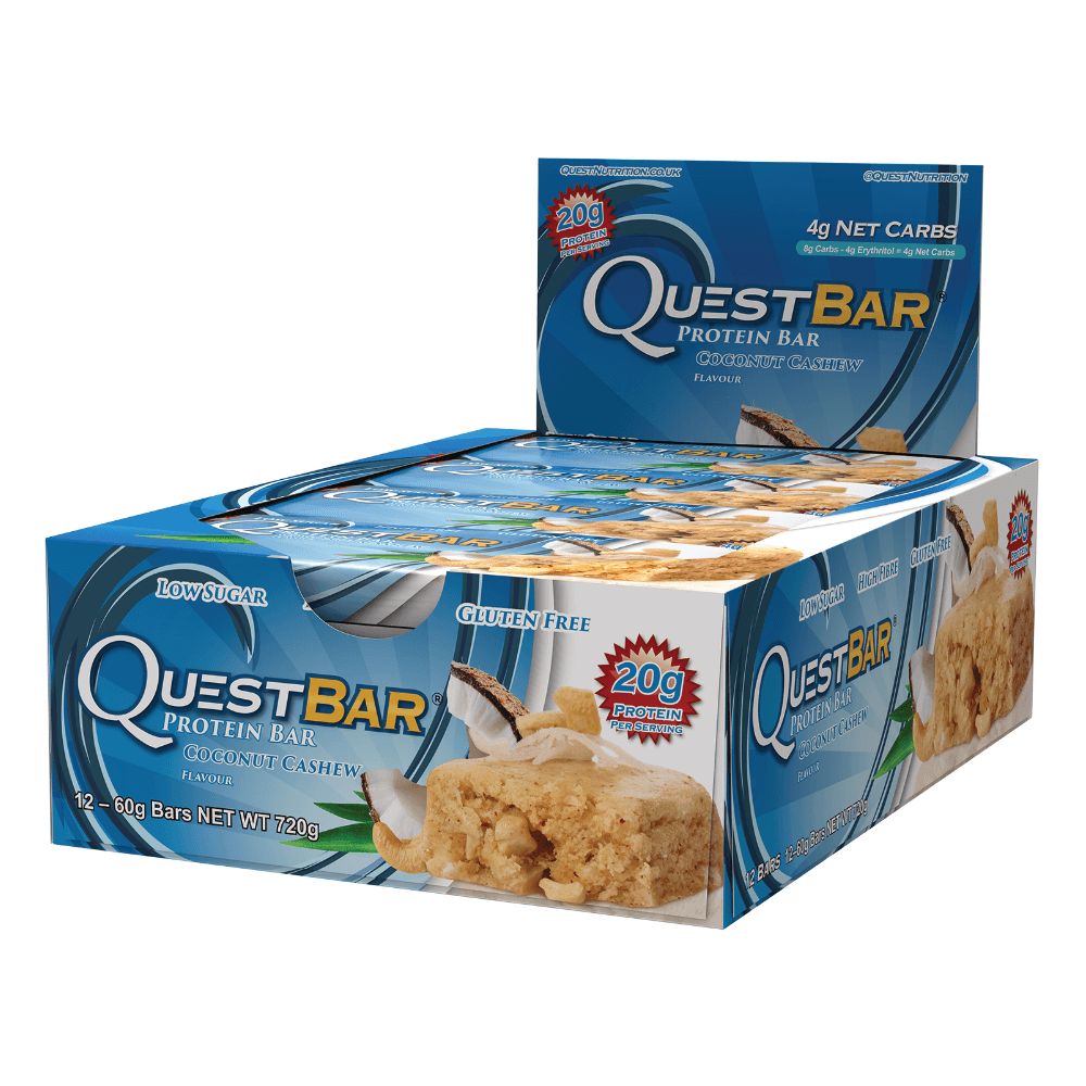 Quest Protein Bar Coconut Cashew (12x60g)