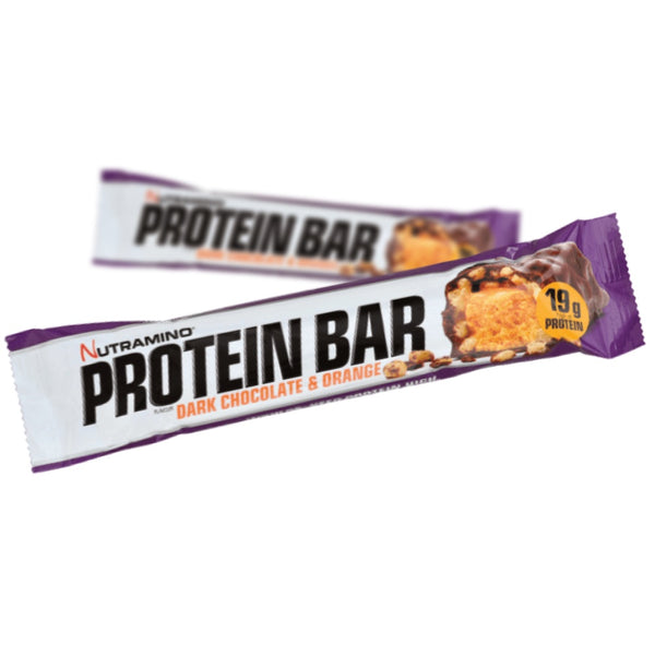 Nutramino Proteinbar Dark Chocolate & Orange (1x64g) - Musclehouse.dk
