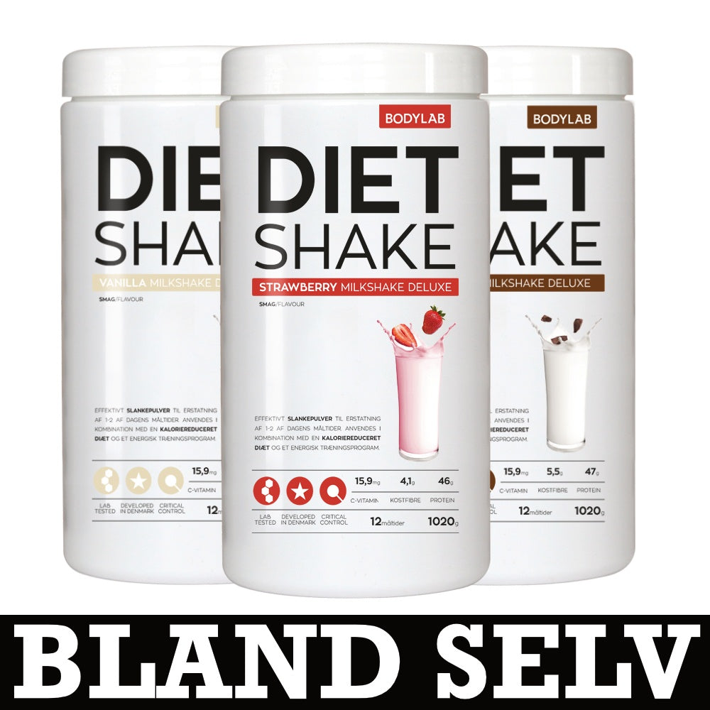 Image of   Bodylab Diet Shake (3x1kg)