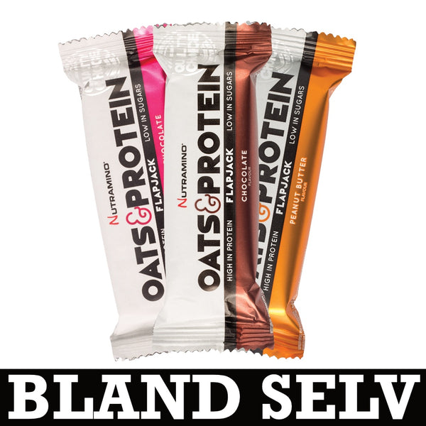 Nutramino Oats & Protein Flapjack (10x50g)