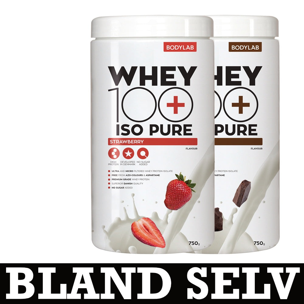 Image of   Køb Bodylab Whey 100 ISO Pure Her - MuscleHouse.dk