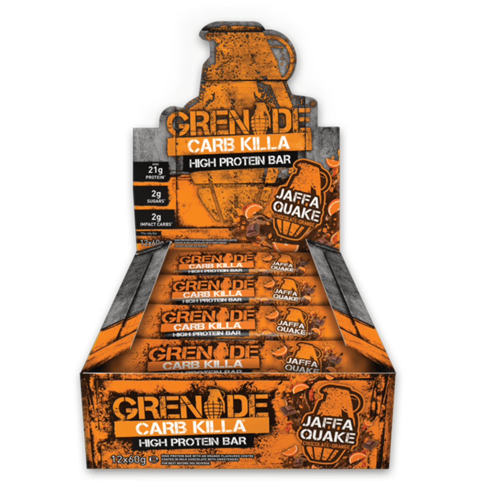 Image of   Grenade Carb Killa Jaffa Quake (12x60g)
