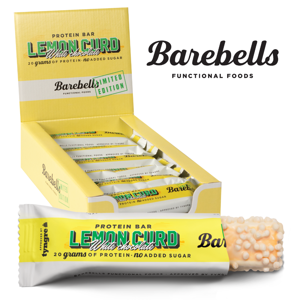 Køb Barebells Protein Lemond Curd White Chocolate – Muscle House
