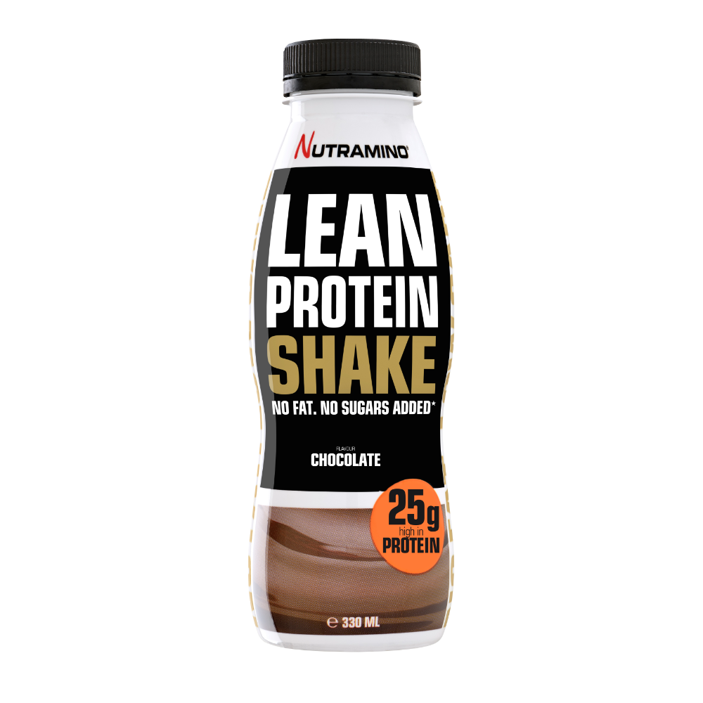 Nutramino Lean Protein Shake – Chocolate (330ml)