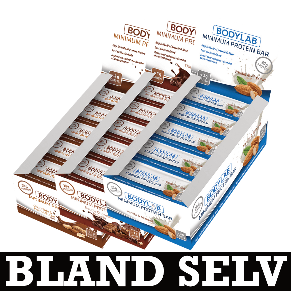 Image of   Bodylab Minimum Proteinbar (36x65g)