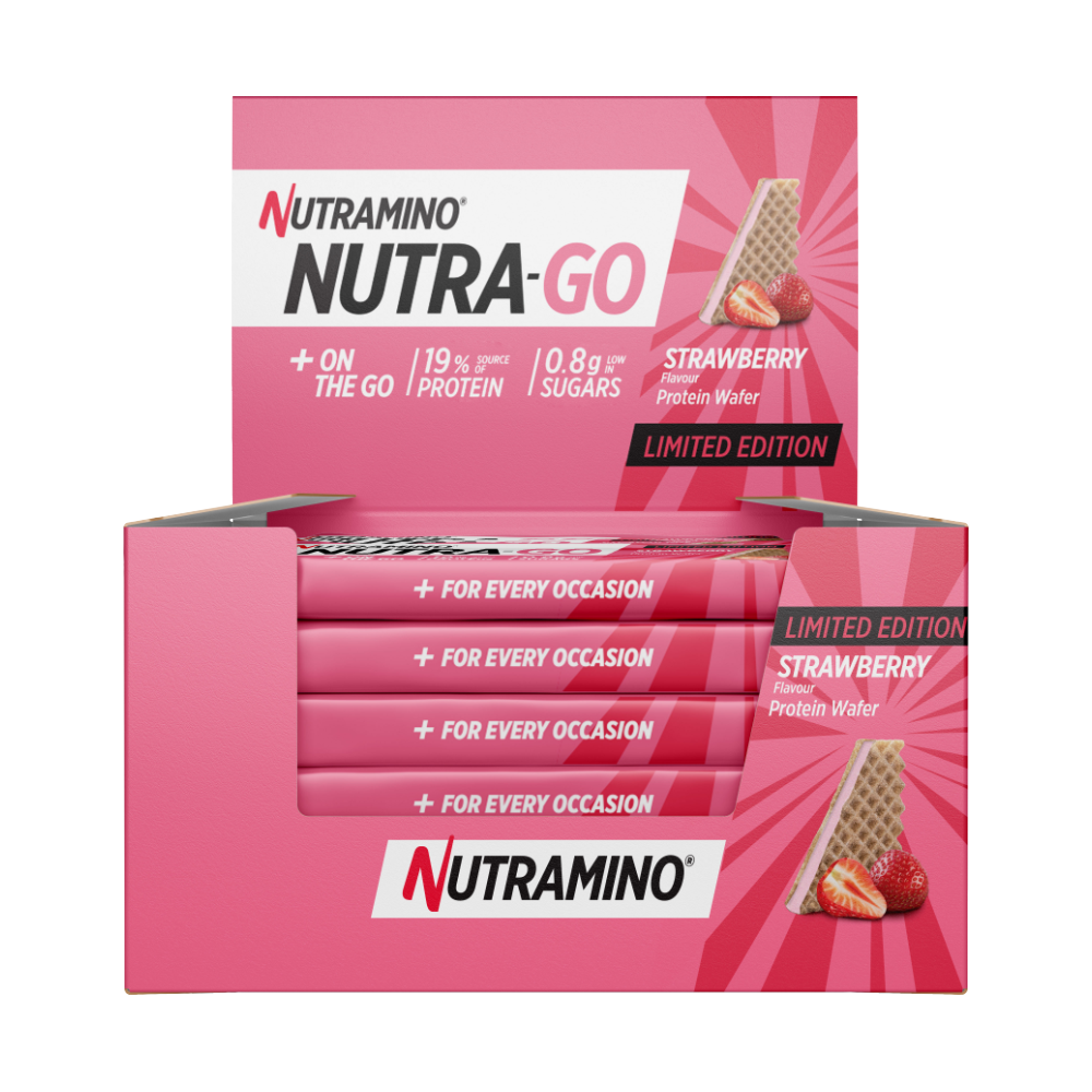 Nutramino Nutra-Go Wafer – Stawberry Limited Edition (12x39g)